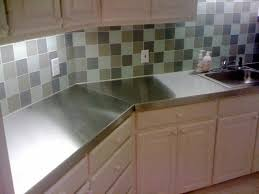 stainless steel kitchen countertops wonderful backsplash ideas for