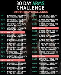 How To Do Challenge 30 Day Arm Challenge 306090 D