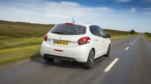 peugeot 2 door car peugeot 208 1 2 gt line 2016 review by car magazine