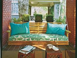 set up a porch swing perfect for socializing southern living