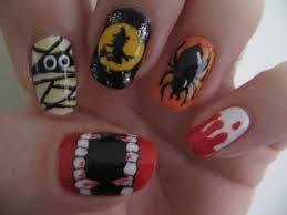 halloween nails my polished nails