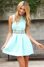 summer clothes for teenage girls blue party dress mint dress