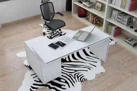 White Gloss Office Furniture by Vista 1 4m White Gloss Office Desk