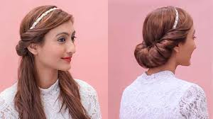 the hairband hairstyles using a hairband grecian updos