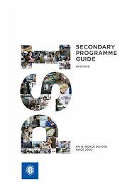 psi secondary programme guide 2015 2016 by pechersk