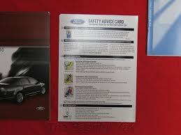 amazon com 2010 ford fusion owner u0027s manual ford automotive