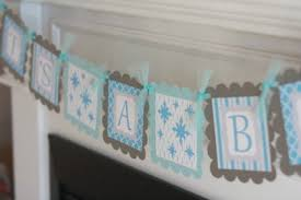 baby shower banner ideas 12 festive ideas for your winter baby shower babble