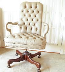 How To Shabby Chic Paint by Painting A Leather Chair A Year Later White Lace Cottage