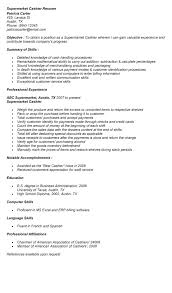 sle cashier resume sle resume for a cashier at grocery 28 images receiving