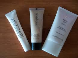 maz makeup anti shine primers makeup forever smashbox u0026 no 7