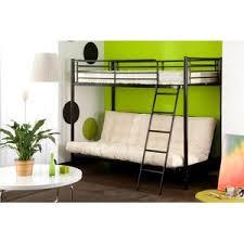 lit mezzanine avec canape lit mezzanine et bureau en bois lits mezzanines pour gagner de la