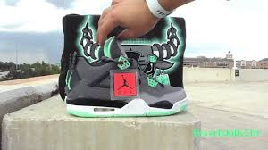 green glow 4 air 4 retro green glow review on