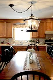 Light Fixtures For The Kitchen Farmhouse Lighting In The Kitchen The Creek Line House