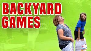 backyard games backyard game fails youtube