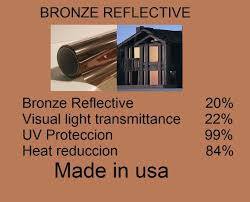 Window Treatments Superfine Traverse Rod by Architectural Window Solar Bronze Film 20 Home Tint Residential 72