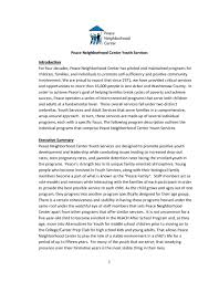 Sample Cover Letter For A Grant Proposal by Community Foundation Grant Proposal Final Draft Sample Protocol