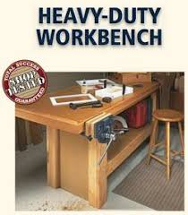 guide heavy duty wood workbench magazine wood working