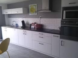 deco cuisine blanche et grise deco cuisine noir et gris lzzyco moderne cuisine blanc et gris image