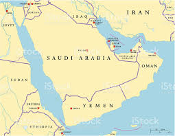Arabian Desert Map Arabian Sea Clip Art Vector Images U0026 Illustrations Istock