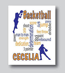 amazon com personalized basketball gifts for girls basketball