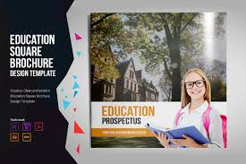Real Estate Prospectus Template by University Brochure Photos Graphics Fonts Themes Templates