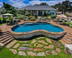 above ground pool dallas tx backyard garden landscape ideas pool