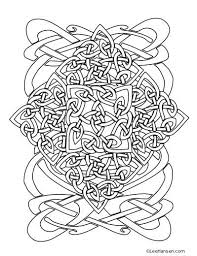 coloring celtic horse coloring