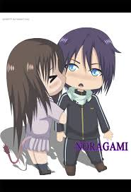 yato and hiyori noragami anime chibi by sarah927artworks on deviantart