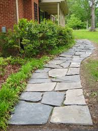 how to clean bluestone how to lay a slate walkway for instant cottage curb appeal