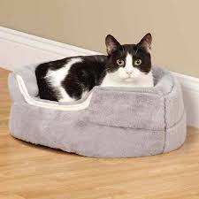 Cats In Dog Beds Slumber Pet Cuddler Dog Bed Gray With Same Day Shipping Baxterboo