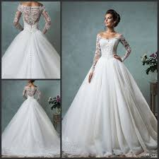 gorgeous wedding dresses gorgeous wedding dresses the shoulder lace sleeves