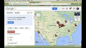 Florida Map Google by Google Tip Create A Google Map From Spreadsheet Data Youtube