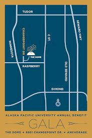 Anchorage Map Annual Benefit Gala U2013 Alaska Pacific University
