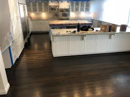 stained kitchen cabinets with hardwood floors san diego hardwood floor refinishing floor store sd