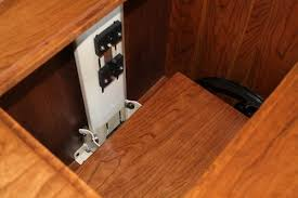 Sewing Cabinet With Lift by Amish Furniture Classic Sewing Machine Cabinet Sewing Cabinets