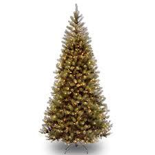 tree company 6 5 ft clear pre lit aspen spruce artificial