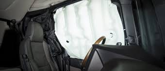 Curtain Airbag Scania S New Truck Generation World S Rollover Side Curtain