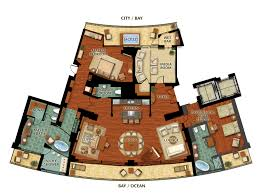 resort floor plans presidential suite floor plan fanatic