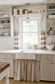 Cottage Kitchen Lighting by Best 25 Cottage Curtains Ideas On Pinterest Curtain Holdbacks