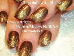 nail art tutorial easy stripe nails for beginners gold striped