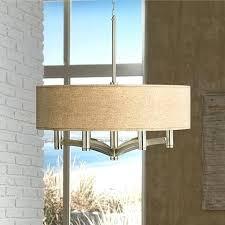 Burlap Chandelier Light Burlap Ceiling Light