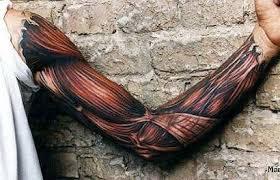 3d tattoo art tattoos muscle tattoo and anatomy