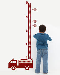 Adorable For Nolan Truck Growth Chart By Decomodwalls 28 00