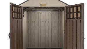 Suncast Shed Shelves by Bms6510 Suncast 201 Cu Ft Everett 6 X 5 Storage Shed Youtube