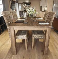 rustic dining room sets classy woods natural dining table with
