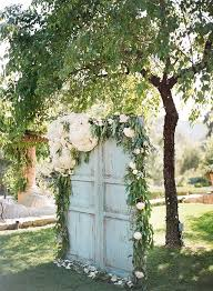 wedding backdrop doors 35 rustic door wedding decor ideas for outdoor country