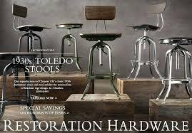 Restoration Hardware Bar Stool Bar Stool The Sexy Vintage Toledo Stool By Restoration Hardware