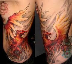 rebirth and the phoenix tattoo tatring