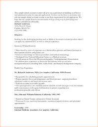Free Medical Assistant Resume Template Assistant Dental Assistant Resume Templates
