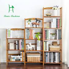 children bookshelves creative combination of simple shelf solid wood multi layer